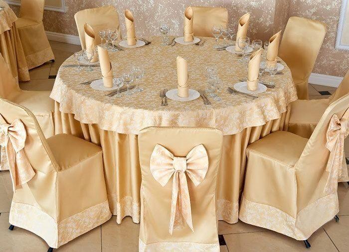 Фото скатерти на круглый стол своими руками