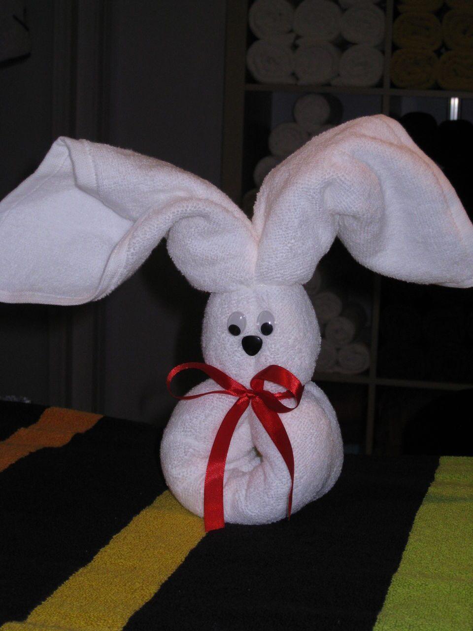Мишка из полотенца своими руками мастер